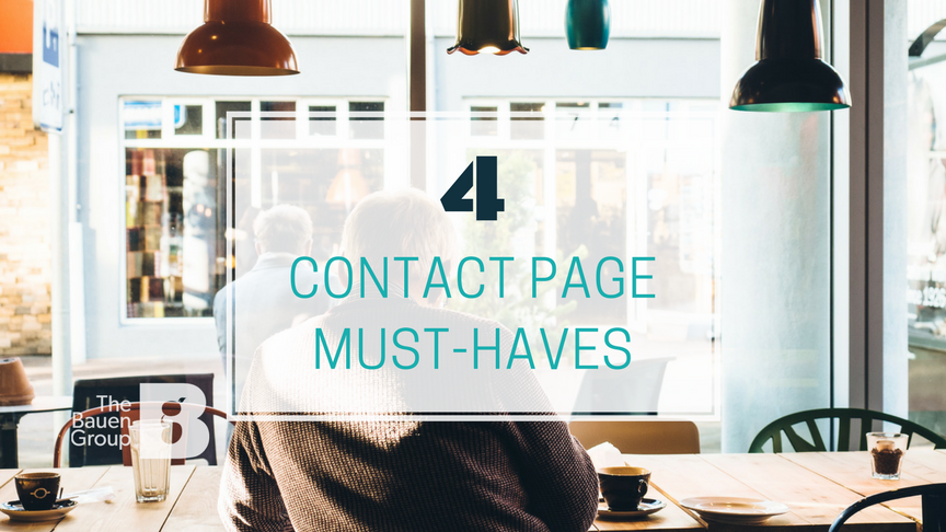 Contact page best practices